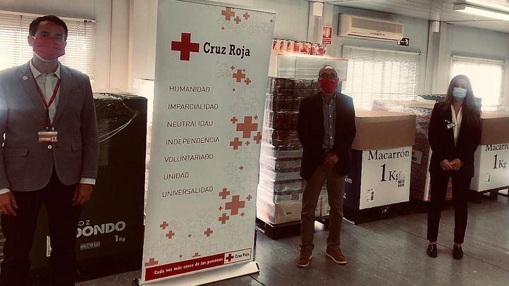 Donación a la Cruz Roja de Móstoles