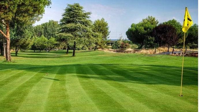 Campo de Golf Negralejo, en Rivas-Vaciamadrid