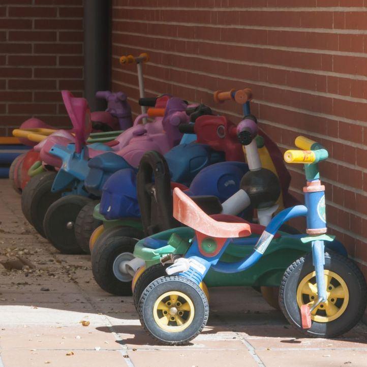 Patio de una escuela infantil
