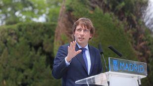 El alcalde de Madrid y portavoz del PP nacional, José Luis Martínez Almeida