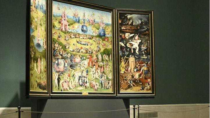 'El jardín de las delicias', expuesto en el Museo del Prado