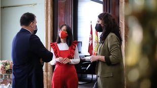 La Delegada del Gobierno en Madrid, Mercedes González, coordina con el alcalde de Rivas, Pedro del Cura, y la vicealcaldesa Mónica Carazo, una estrategia común para dar solución la Cañada Real Galiana