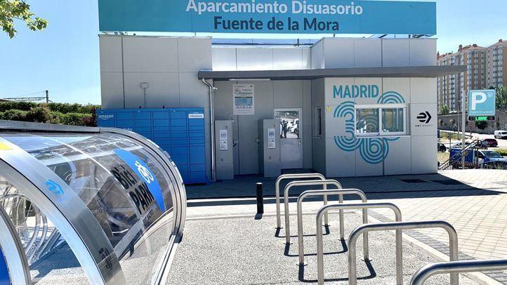 Nuevo aparcamiento disuasorio de Fuente de la Mora