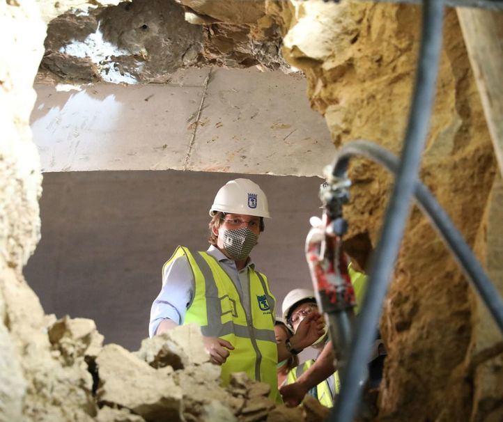 Finaliza la excavación del túnel que conectará Bailén y Ferraz como parte de las obras de Plaza España.