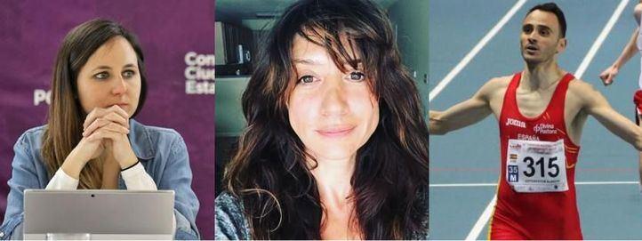 Los famosos que ficha Ione Belarra para su lista de Podemos: María Botto y Roberto Sotomayor