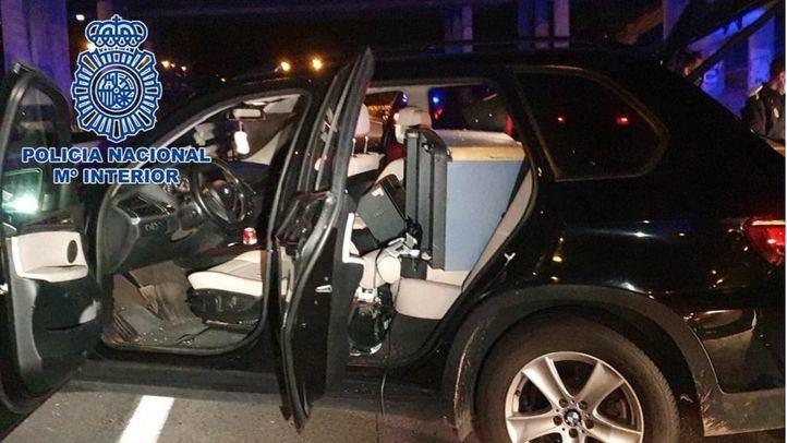 Detenidos seis aluniceros tras una larga persecución por Madrid después de asaltar un bar