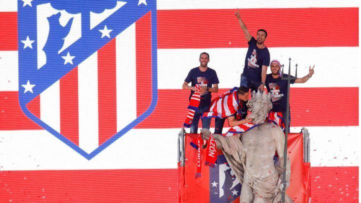 Madrid prepara un dispositivo especial con control de aforo en Neptuno si el Atleti gana la Liga