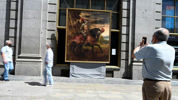 Cuadros del Museo del Prado convierten las calles de Madrid en una galería urbana