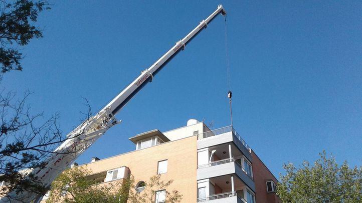 La instalación de una cuarta antena 5G reaviva la preocupación entre los vecinos de Leganés