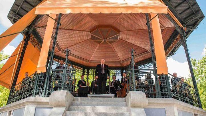 La Banda Sinfónica Municipal arranca en El Retiro el tradicional ciclo de verano