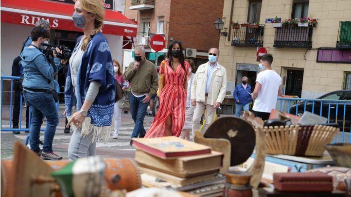 Begoña Villacís, vicealcaldesa de Madrid, presenta 'Losa sábados del Rastro'
