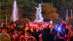 La celebración por la victoria del Atlético deja 27 personas atendidas y siete traslados al hospital
