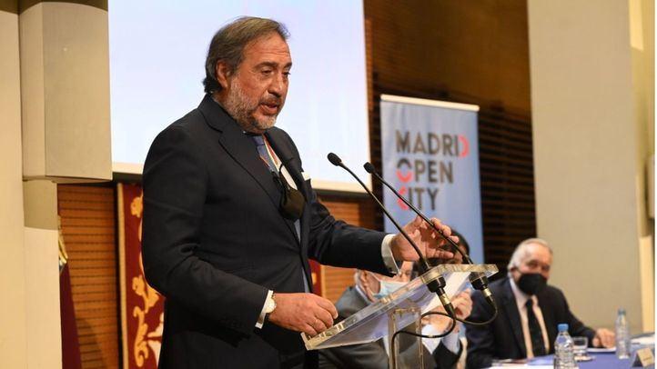 El presidente de la Cámara de Comercio, Angel Asensio