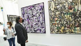 Ayuso y C. Tangana, protagonistas de la Feria de Arte Contemporáneo