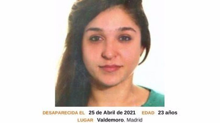 La desaparecida fue vista por última vez en Valdemoro el 25 de abril