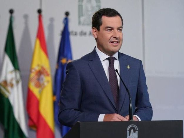 El presidente andaluz Juanma Moreno da positivo por coronavirus