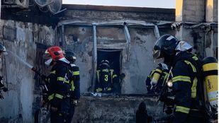 Incendio en Fuencarral