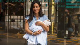 Begoña Villacís tras dar a luz