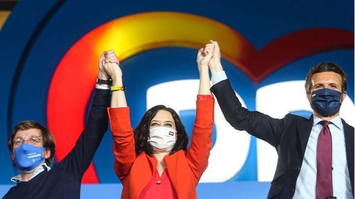 Ayuso gana enteros entre la dirección del partido para presidir el PP madrileño
