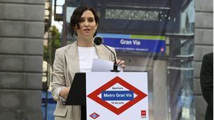 Isabel Díaz Ayuso evita hablar sobre su posible candidatura a presidenta del PP madrileño