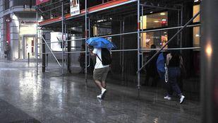 Alerta amarilla en la Comunidad por riesgo de tormentas, granizo y viento