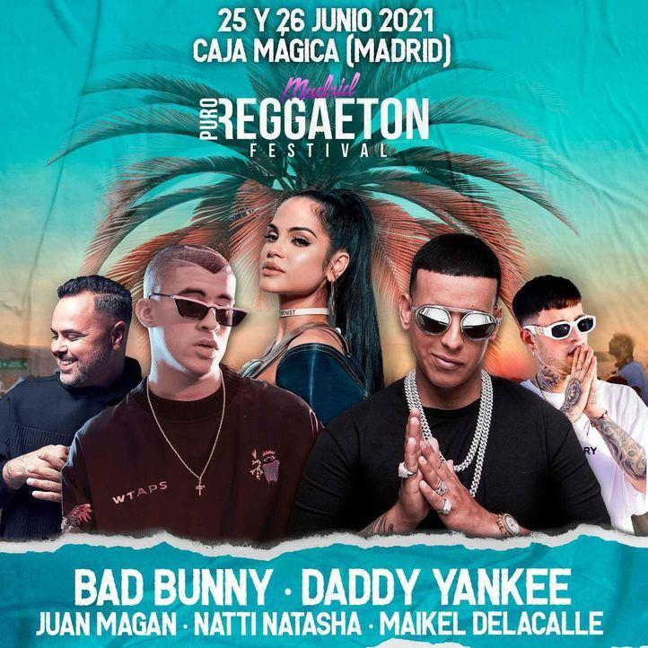 Aplazado a 2022 el Madrid Puro Reggaeton Festival