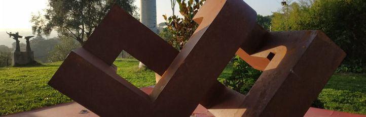Escultura de José Miguel Utande para los  XVIII Premios Madrid.