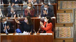 María Eugenia Carballedo, nueva presidenta de la Asamblea de Madrid