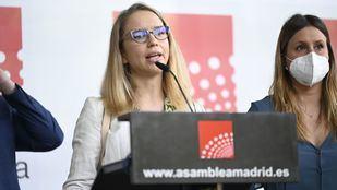 Carolina Alonso, nueva portavoz de Unidas Podemos en la Asamblea de Madrid