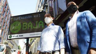 Madrid prueba un sistema que detecta en tiempo real los vehículos más contaminantes
