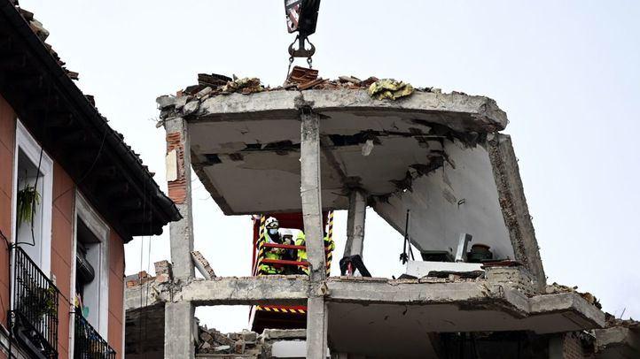 Explosión calle Toledo