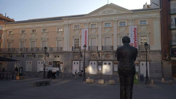Fachada del Teatro Español