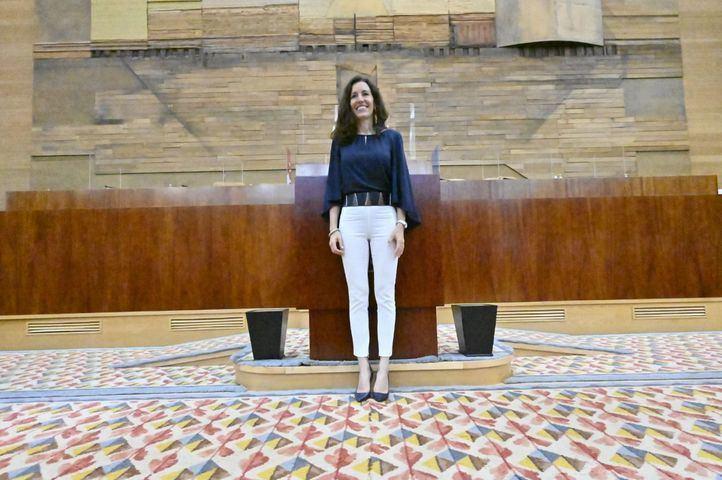 Presidenta de la Asamblea de Madrid, María Eugenia Carballedo (PP)