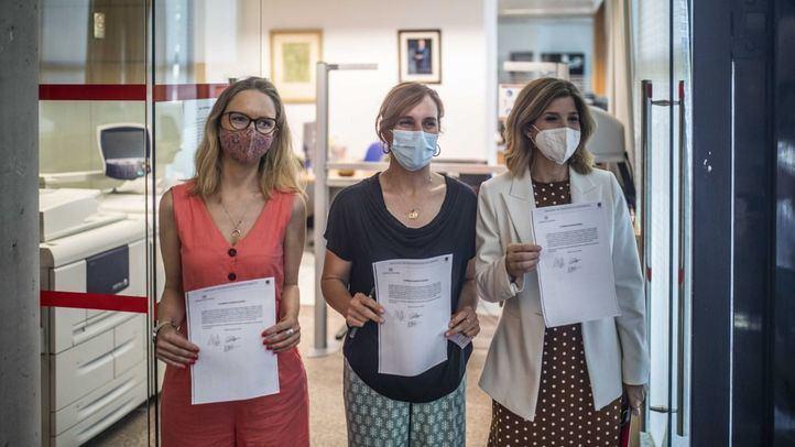 PSOE, Más Madrid y Unidas Podemos registran una comisión de residencias para buscar 'responsabilidades políticas'