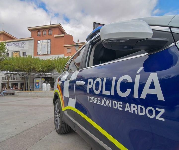 Hallado el cadáver de un indigente en un parque de Torrejón de Ardoz