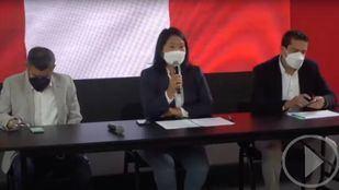Keiko Fujimori exige un recuento de votos en Peru