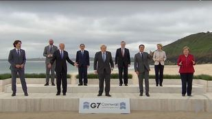 G7 se compromete a entregar vacunas a países en vías de desarrollo