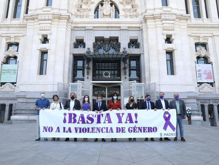 Concentración silenciosa en Madrid contra la violencia machista