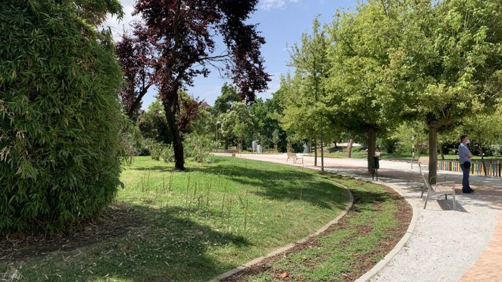 Parque Dionisio Ridruejo de Moratalaz
