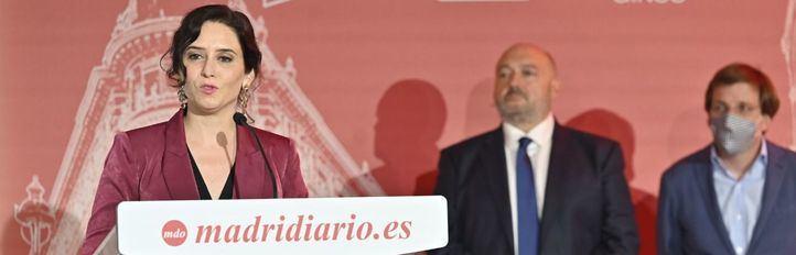 Isabel Díaz Ayuso recoge el premio a la Mujer del Año