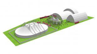 Plano del Espacio Ibercaja Delicias