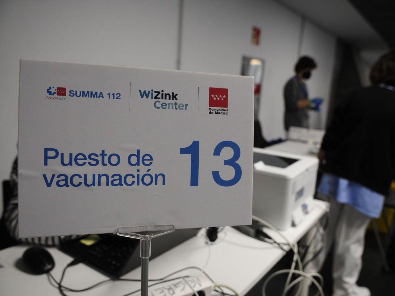 Sanidad amplía este viernes la autocita para vacunarse a madrileños de 45 años