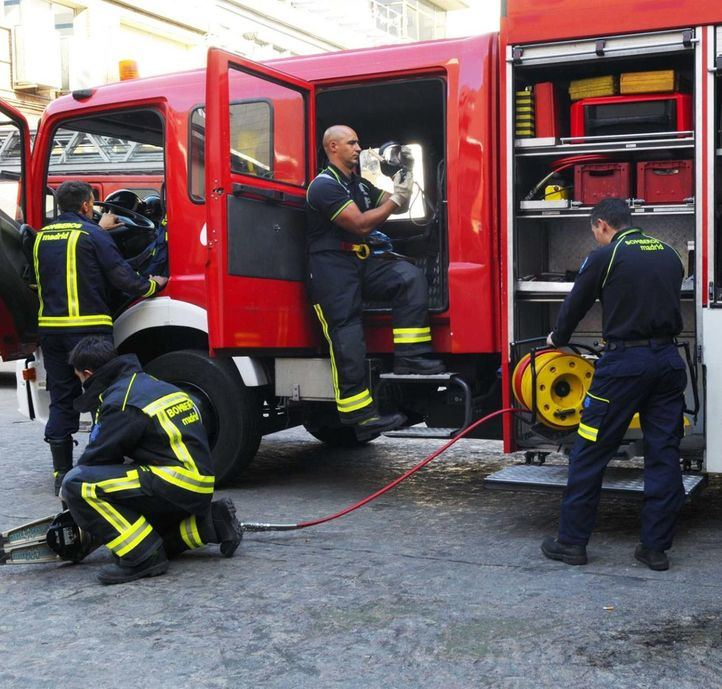 El Ayuntamiento de Madrid incorpora 86 nuevos especialistas bomberos
