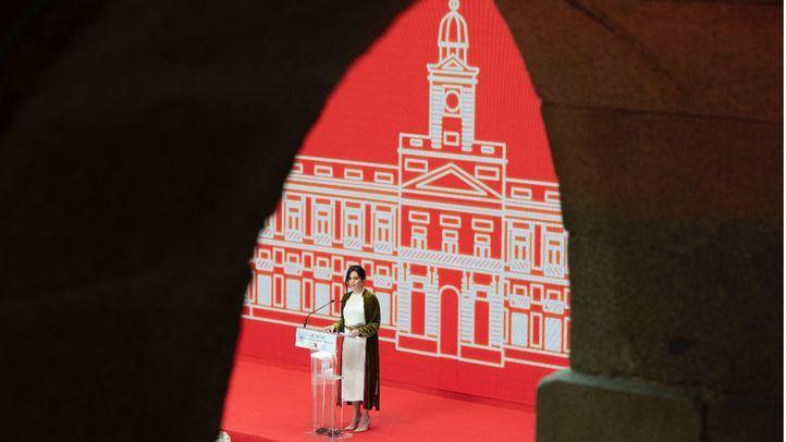 Isabel Díaz Ayuso jura por segunda vez como presidenta de la Comunidad de Madrid