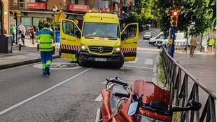 Herido grave un hombre de 83 años tras ser atropellado en Leganés