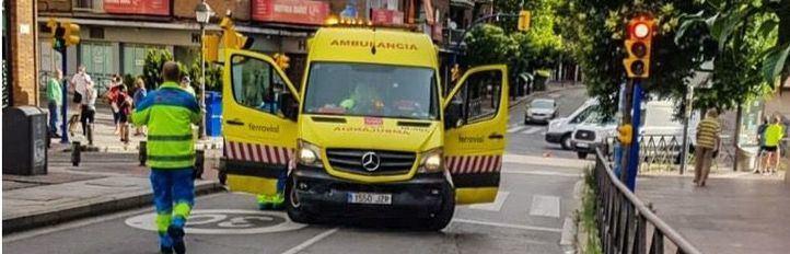 Herido grave un hombre de 83 años tras ser atropellado por un motorista en Leganés