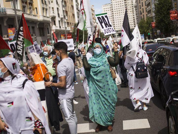 La Marcha Saharaui protesta contra la vulneración de derechos en el territorio
