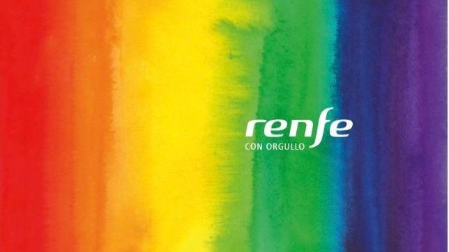 Renfe vinilará trenes Ave, Larga Distancia y de Cercanías para conmemorar el Día del Orgullo LGTBI