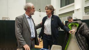 Luis Cueto y Marta Higueras, miembros de Recupera Madrid