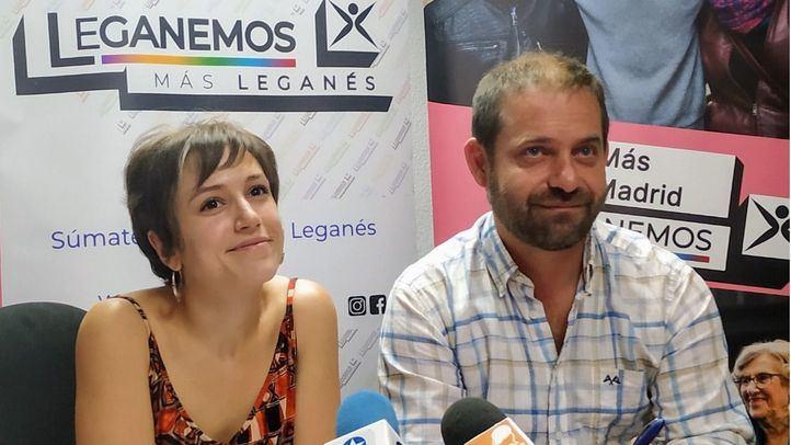 Fran Muñoz y Eva Martínez comparecen en rueda de prensa.